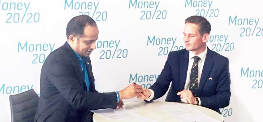 Sopnendu Mohanty, Chief FinTech Officer, MAS (left) and Thomas Brenøe, Deputy Director General, Danish FSA (right)