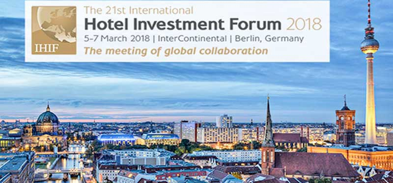 The 21st International Hotel Investment Forum Berlin, Germany