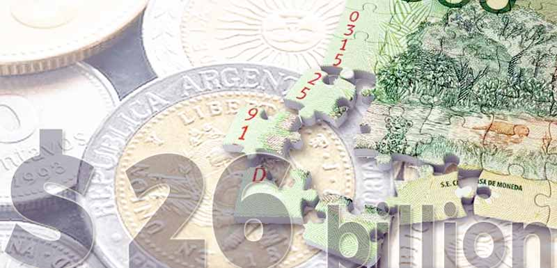 The peso is the currency of Argentina
