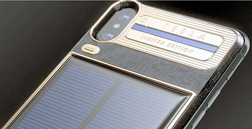 huge discount 93056 430bd Caviar creates solar-powered version of iPhone X | Investopress
