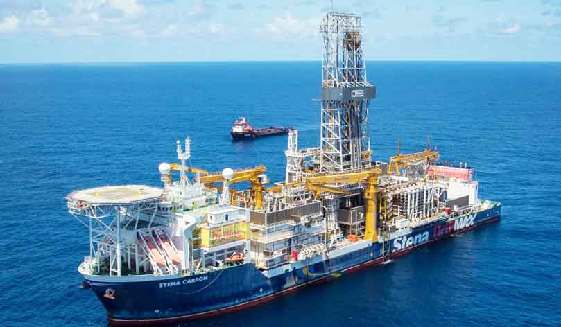 Stena Carron drillship in Guyana Photo: ExxonMobil