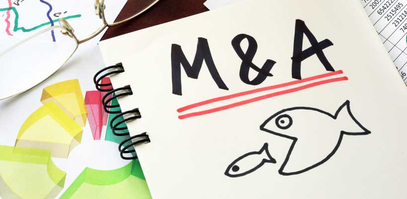 Companies' appetite for M&A hits a four-year low © Designer491