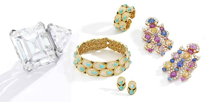 Jewelry collected by Barbara, Sinatra's fourth wife
