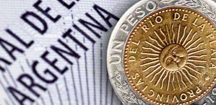 Argentina's currency peso