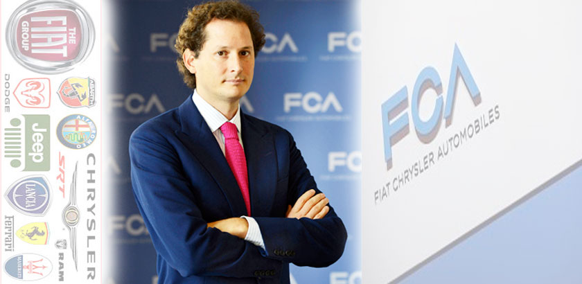 John Elkann chairman of Fiat Chrysler and Ferrari