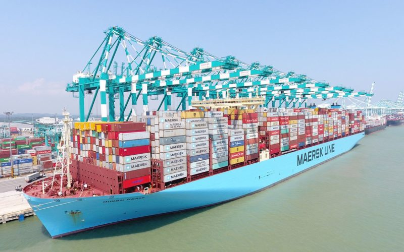 Maersk shipping giant