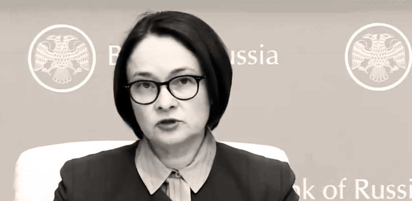 Elvira Nabiullina Head of Bank of Russia