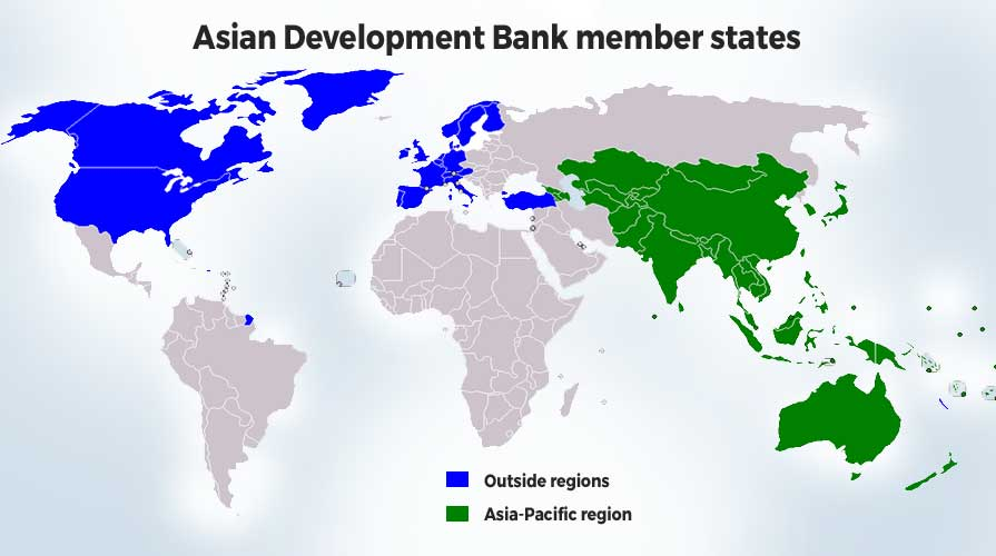 Asian Development Bank member states