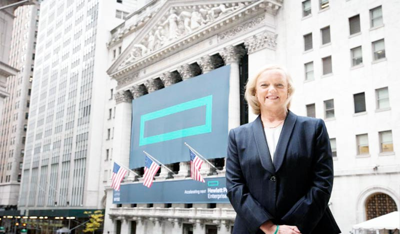 Meg Whitman on Wall Street