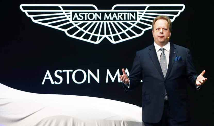 Andy Palmer, President and Group CEO of Aston Martin
