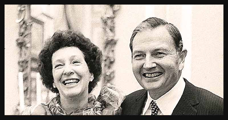 peggy and david rockefeller