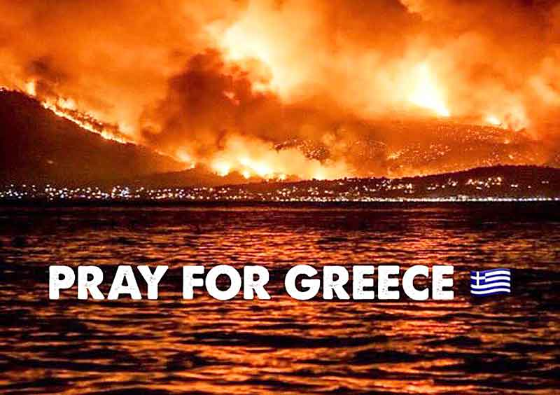 pray for greece