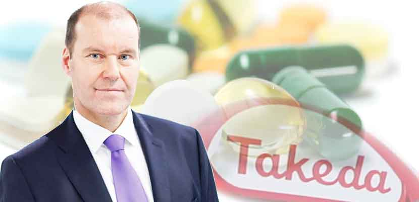 Takeda CEO Christopher Weber