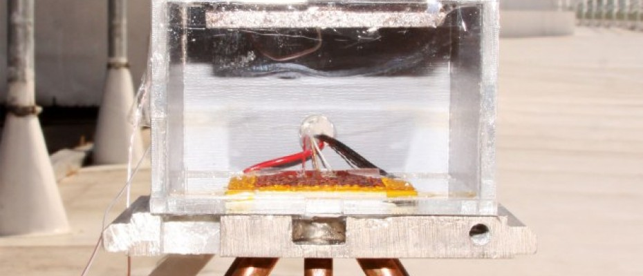 Solar-powered device turns  air into drinkable water Photo Credit: MIT