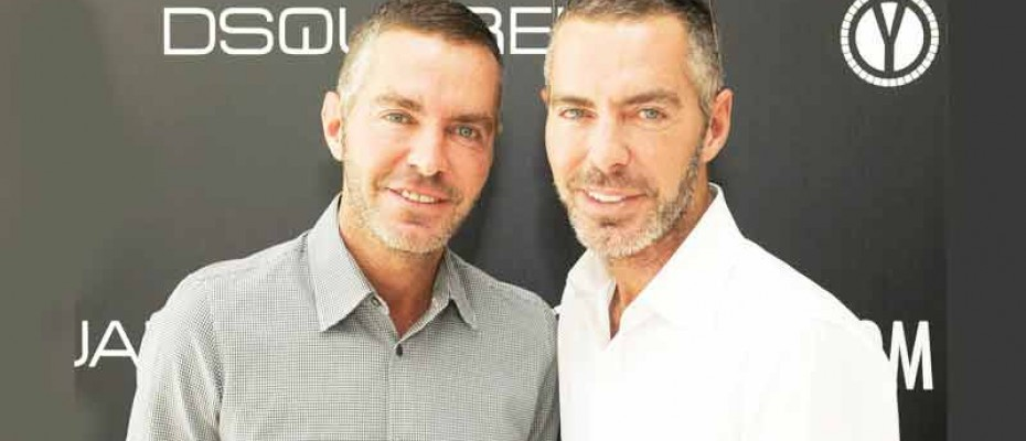 Dean and Dan Caten founders and owners of Dsquared2