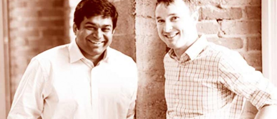 FlyHomes founders Tushar Garg and Stephen Lane