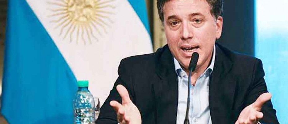 Argentina's Finance minister Nicolas Dujovne Photo: AP