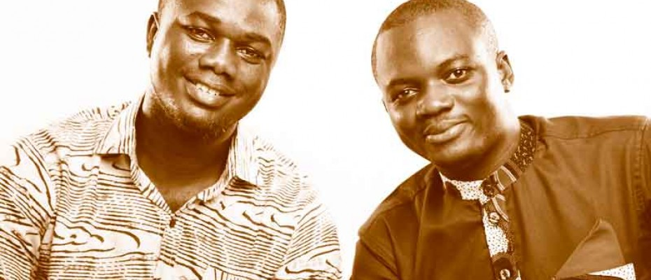 Alloysius Attah and Emmanuel Owusu Addai, Farmerline co-founders