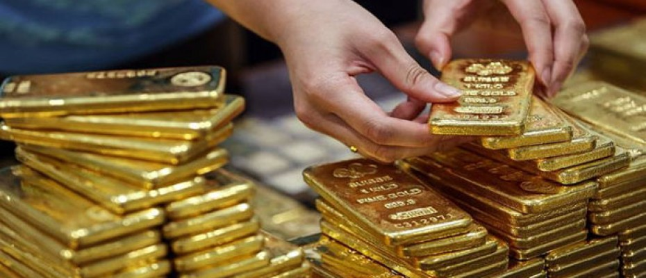 Gold recorded sharp gains on Thursday
