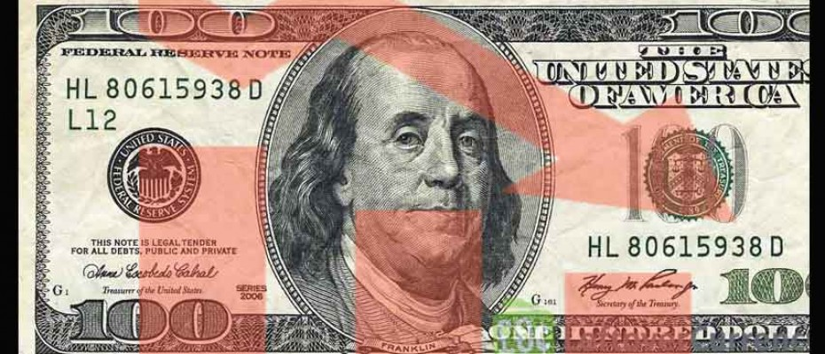 US dollar falls for third day in a row
