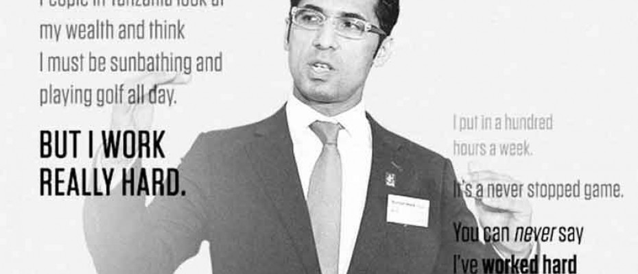 Mohammed Dewji, President and CEO of Mohammed Enterprises Tanzania Limited