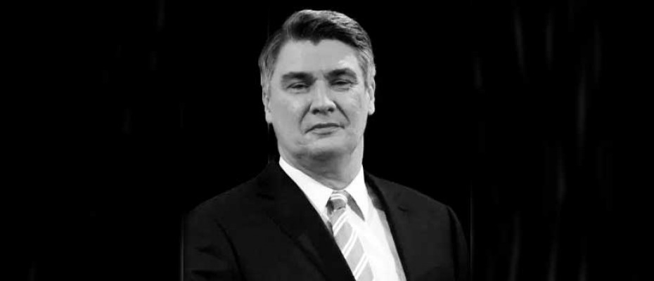 Croatian new President Zoran Milanovic