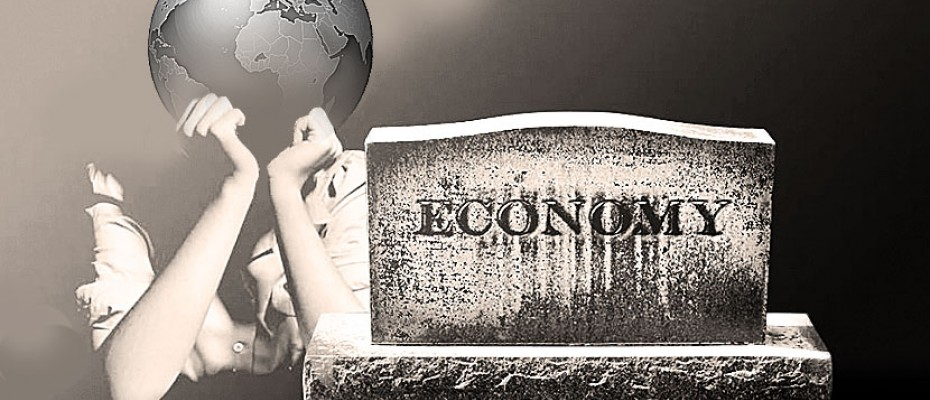 world economy in ruins