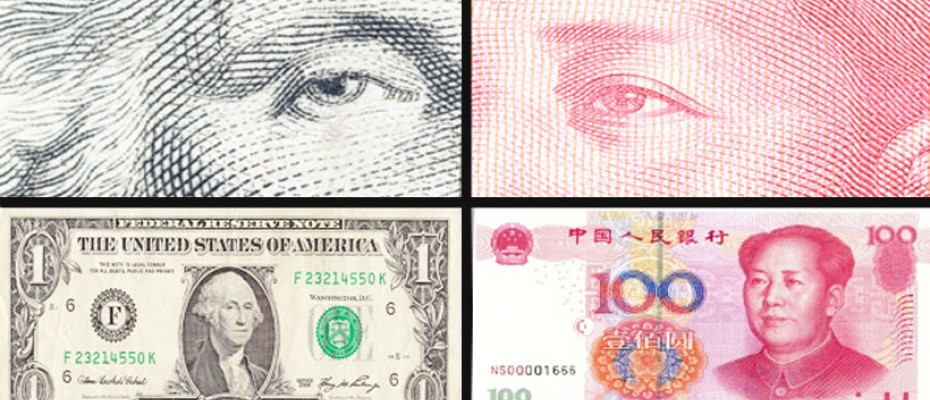 Dollar rises vs yuan